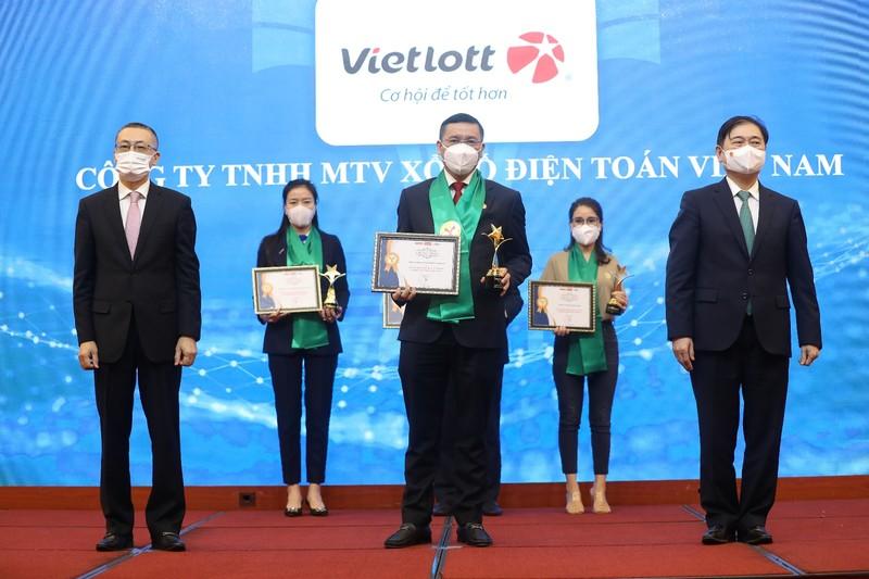 Vietlott: Top 10 Thương hiệu mạnh ngành dịch vụ số Việt Nam 2021 - ảnh 1