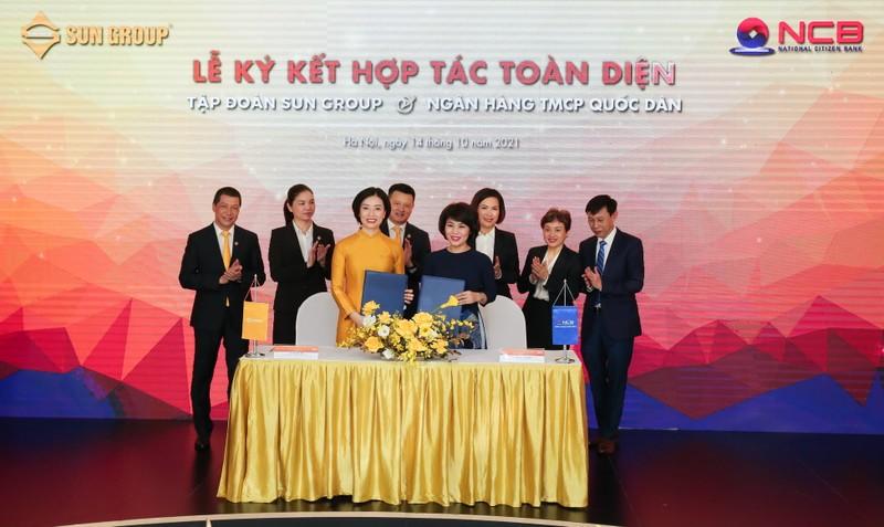 Sun Group và NCB ký kết thỏa thuận hợp tác toàn diện - ảnh 2