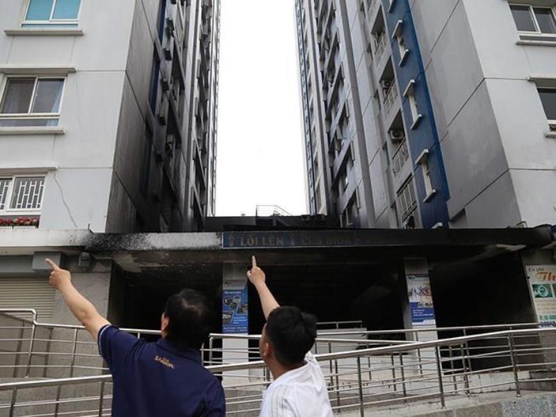 Chung cư Carina Plaza ngưng trả tiền hỗ trợ cho cư dân - ảnh 1