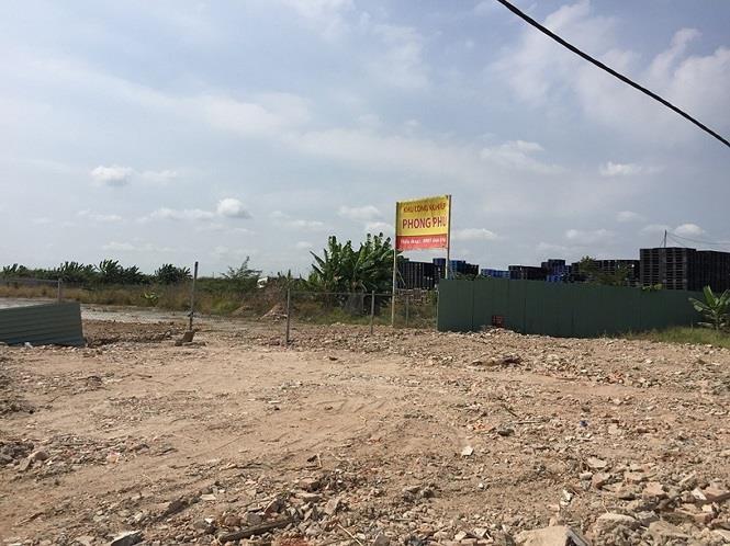Xử lý vi phạm trật tự xây dựng tại Khu công nghiệp Phong Phú - ảnh 1