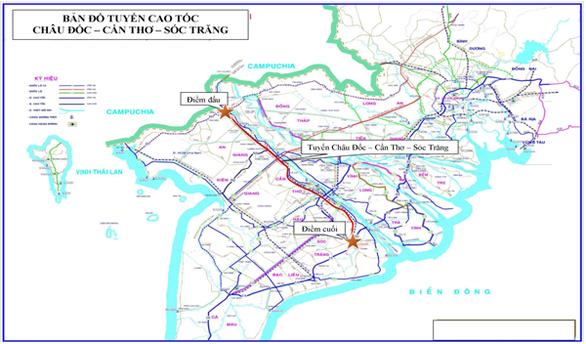 Miền Tây sẽ có thêm 2 tuyến cao tốc hơn 67.400 tỉ đồng  - ảnh 1