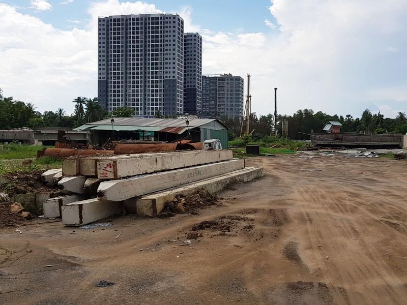 Những hình ảnh hoang tàn của công trường dự án vành đai 2 - ảnh 10
