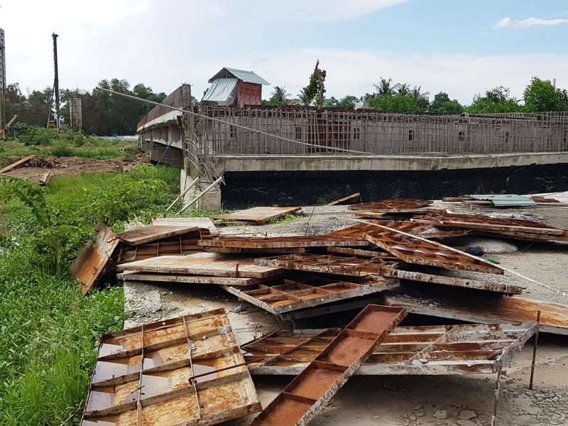 Những hình ảnh hoang tàn của công trường dự án vành đai 2 - ảnh 11