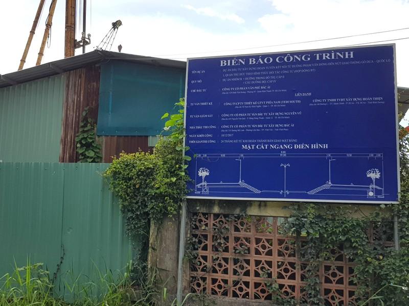 Những hình ảnh hoang tàn của công trường dự án vành đai 2 - ảnh 1