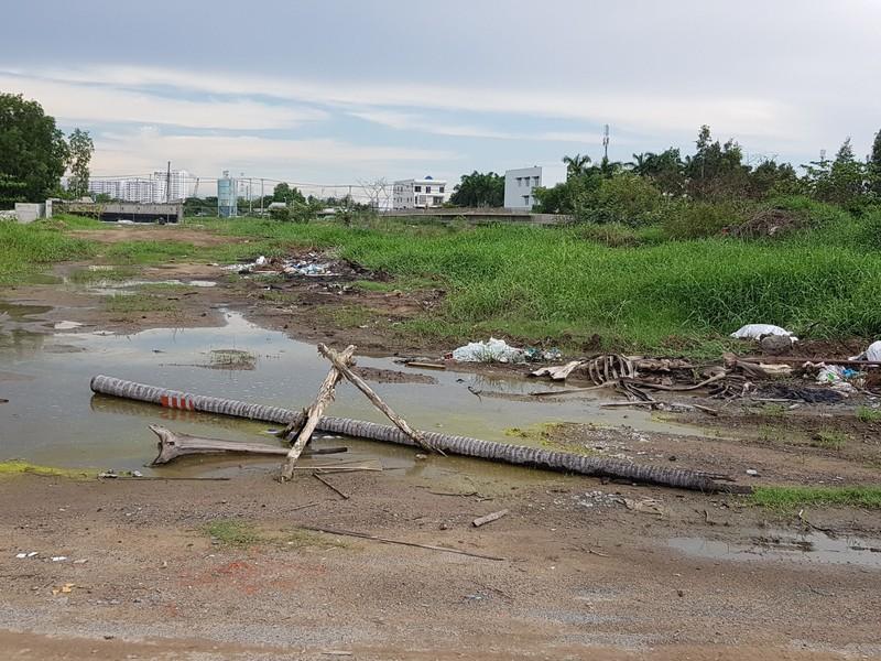 Những hình ảnh hoang tàn của công trường dự án vành đai 2 - ảnh 4