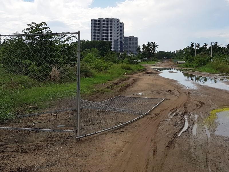 Những hình ảnh hoang tàn của công trường dự án vành đai 2 - ảnh 6