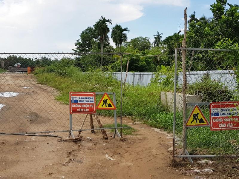 Những hình ảnh hoang tàn của công trường dự án vành đai 2 - ảnh 9
