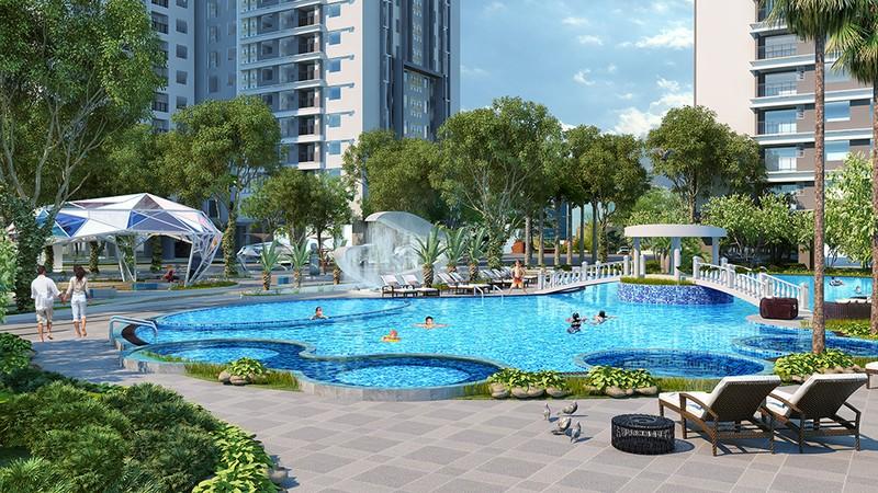 Đề xuất vườn hoa, hồ bơi chung cư phải đóng tiền sử dụng đất - ảnh 1