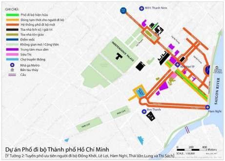 Đề xuất phố đi bộ gồm 5 tuyến đường trung tâm TP.HCM - ảnh 3