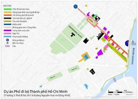 Đề xuất phố đi bộ gồm 5 tuyến đường trung tâm TP.HCM - ảnh 4