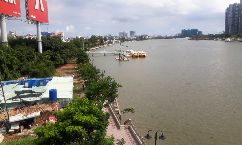 Ngắm toàn cảnh quy hoạch sông Sài Gòn hiện hữu nhìn từ trên cao - ảnh 13