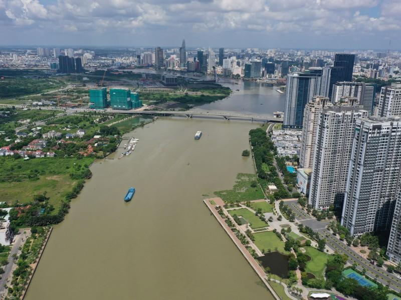Ngắm toàn cảnh quy hoạch sông Sài Gòn hiện hữu nhìn từ trên cao - ảnh 3