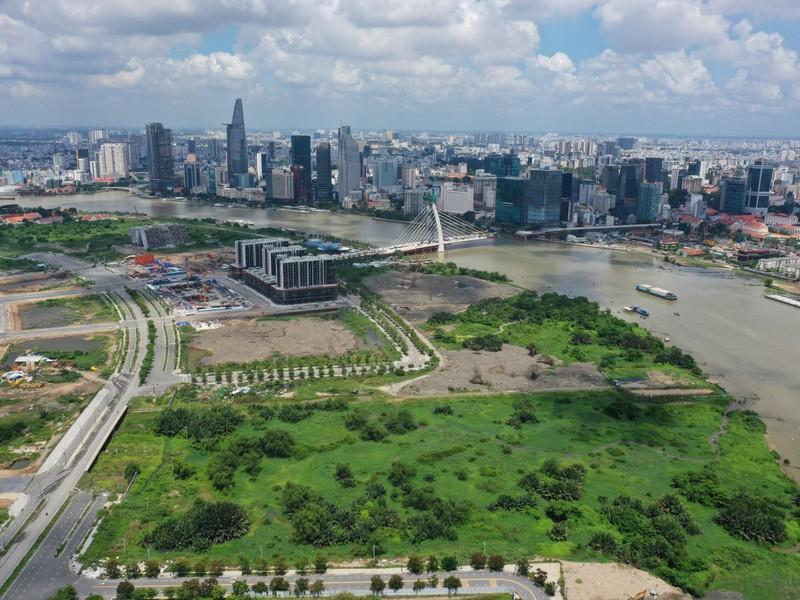 Ngắm toàn cảnh quy hoạch sông Sài Gòn hiện hữu nhìn từ trên cao - ảnh 4