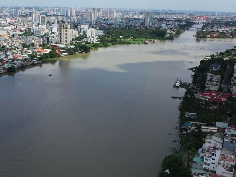 Ngắm toàn cảnh quy hoạch sông Sài Gòn hiện hữu nhìn từ trên cao - ảnh 7