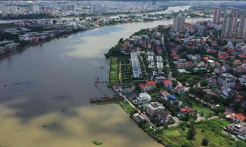 Ngắm toàn cảnh quy hoạch sông Sài Gòn hiện hữu nhìn từ trên cao - ảnh 8