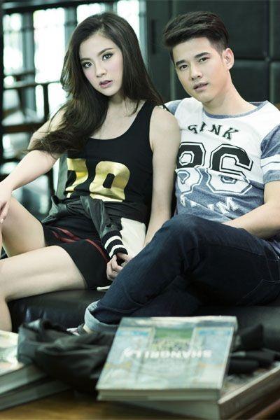 Baifern Pimchanok vai nào cũng cặp với trai đẹp cực phẩm - ảnh 2