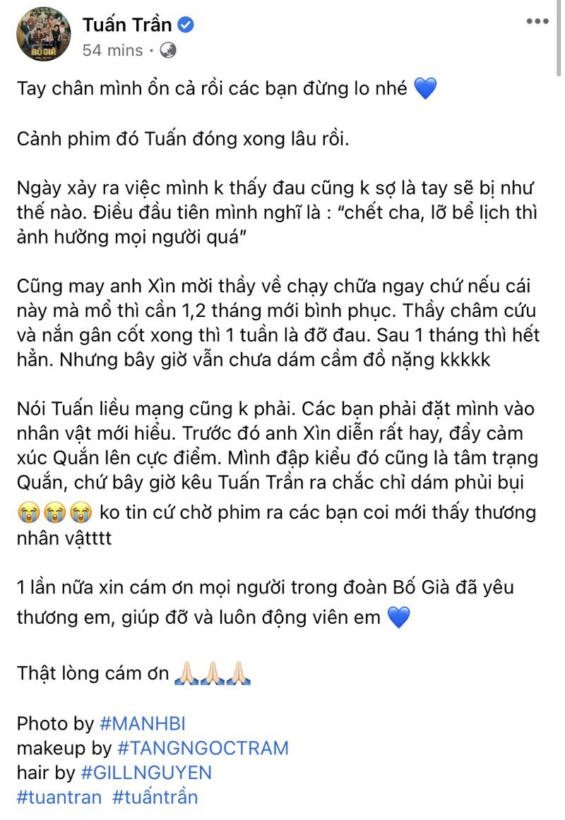 Clip Tuấn Trần gặp chấn thương đạt hơn 2 triệu view - ảnh 2