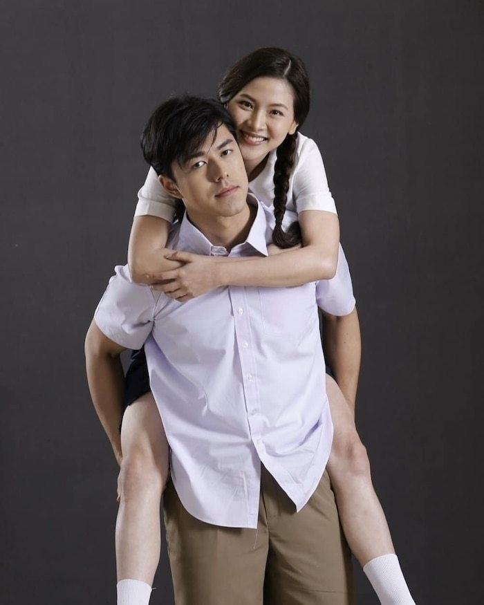 Baifern Pimchanok vai nào cũng cặp với trai đẹp cực phẩm - ảnh 4