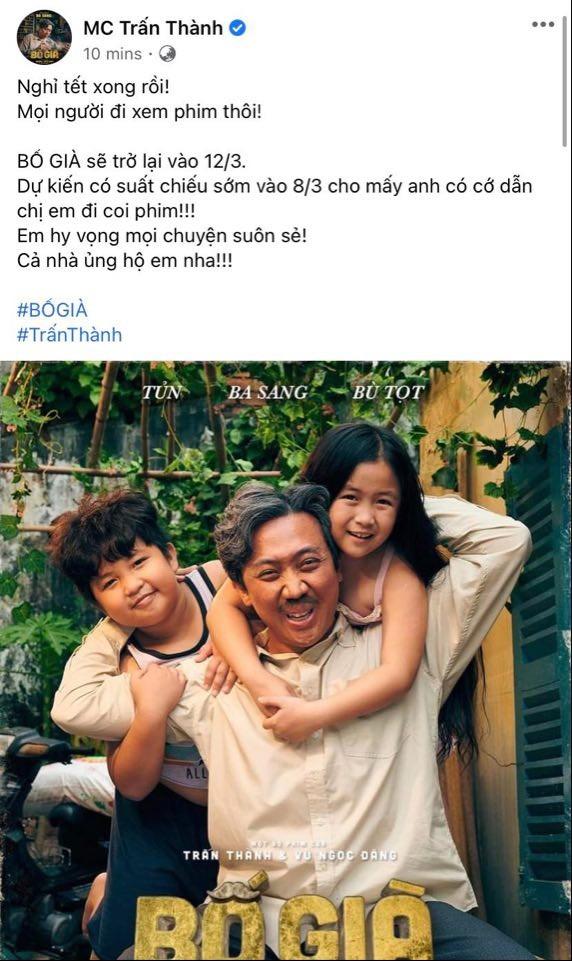 'Bố Già' bản điện ảnh chính thức trở lại vào ngày 12-3 - ảnh 1