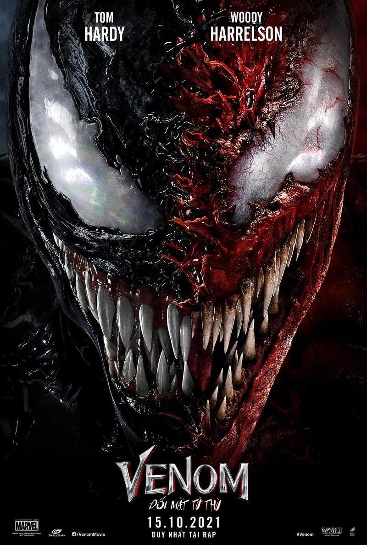 Venom 2 tung poster hấp dẫn cùng lịch chiếu mới - ảnh 1