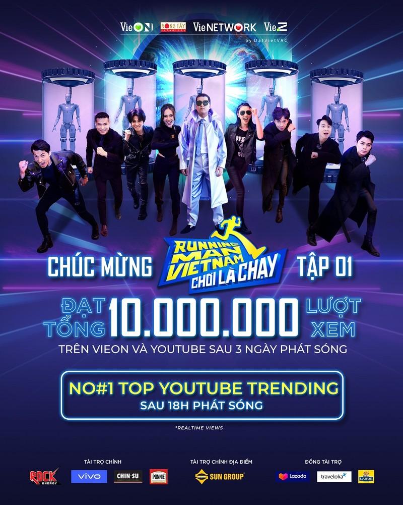 Tập 1 Running Man Vietnam - Chơi Là Chạy đạt tốp 1 trending Youtube - ảnh 1