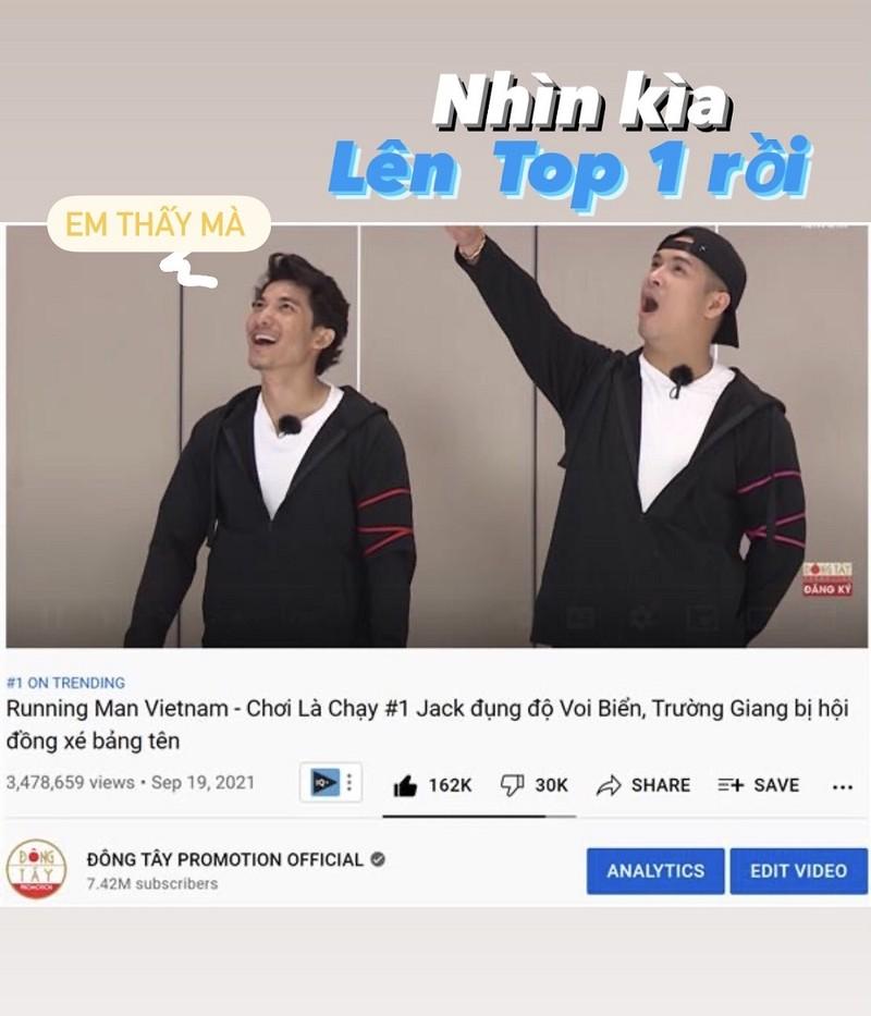 Tập 1 Running Man Vietnam - Chơi Là Chạy đạt tốp 1 trending Youtube - ảnh 3