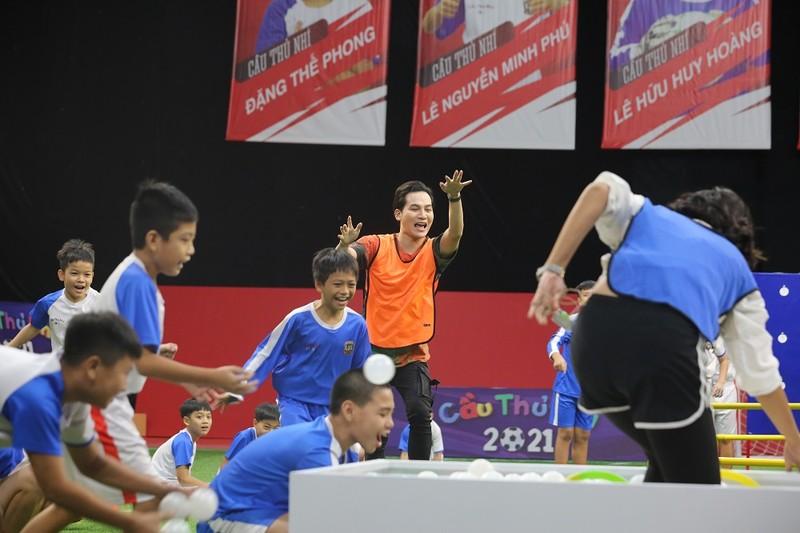 ST Sơn Thạch bị thẻ vàng vì tự ý ra sân ăn mừng bàn thắng tại Cầu thủ nhí 2021 - ảnh 4