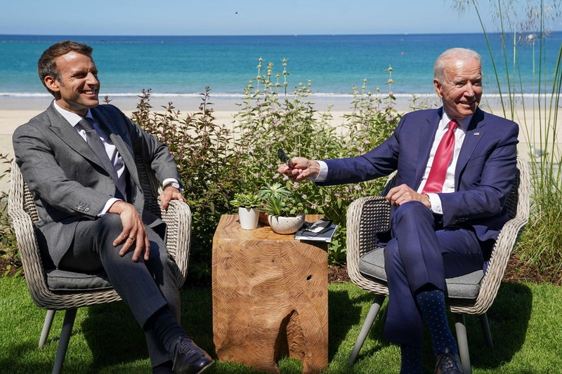 Telegragh:Liên minh Mỹ-Anh-Úc được bàn khi G7 họp tháng 6, ông Macron không biết - ảnh 1