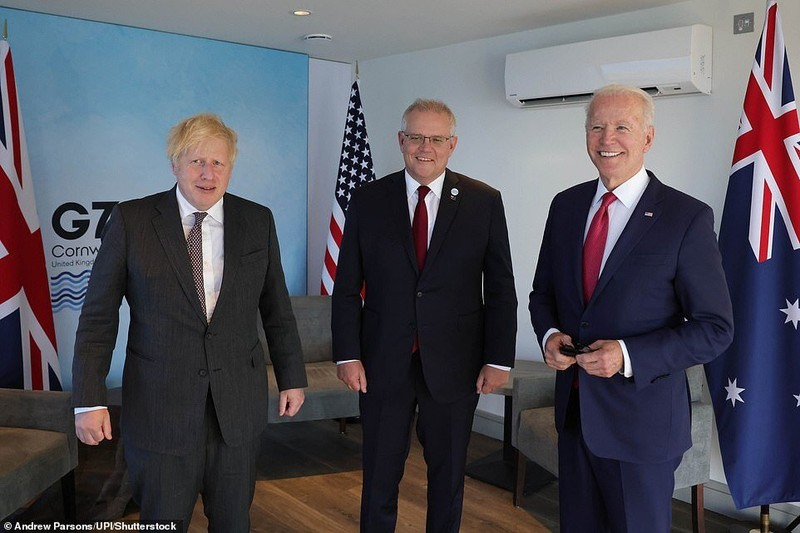 Telegragh:Liên minh Mỹ-Anh-Úc được bàn khi G7 họp tháng 6, ông Macron không biết - ảnh 2