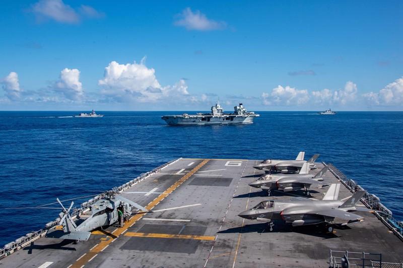 Cán cân sức mạnh của hải quân và tàu ngầm các nước tại khu vực Thái Bình Dương - ảnh 1