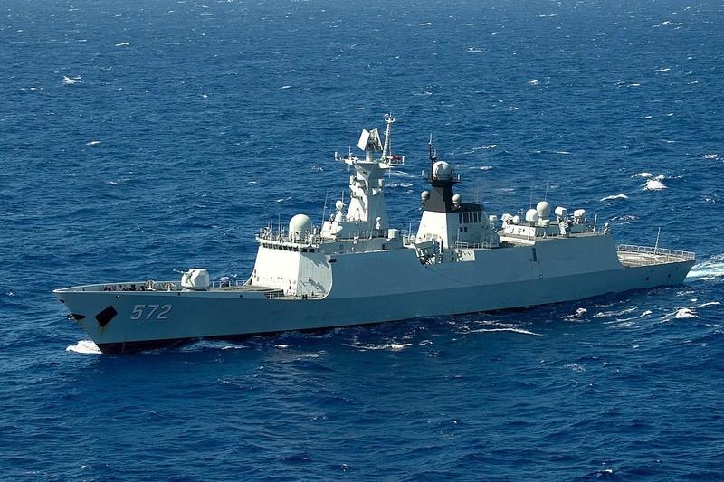 Đài Loan theo dõi tàu khu trục tên lửa của Trung Quốc phía đông nam hòn đảo - ảnh 1