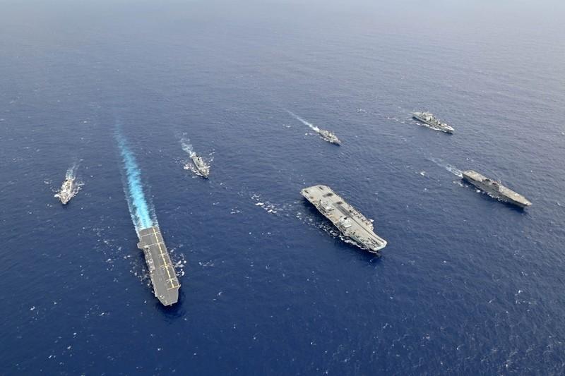 Nhật, Anh bắt đầu đàm phán về thỏa thuận tiếp cận các cuộc tập trận chung  - ảnh 1