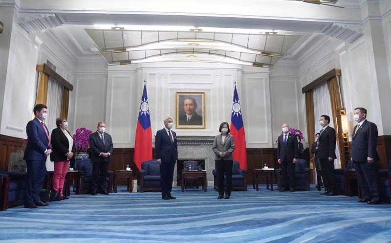 Tiếp phái đoàn nghị sĩ Pháp và cựu thủ tướng Úc, bà Thái nhắn nhủ hợp tác - ảnh 2