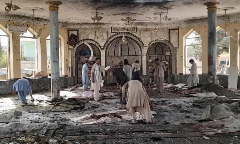 Afghanistan: Đánh bom liều chết tại nhà thờ Hồi giáo, hơn 100 người thương vong  - ảnh 1