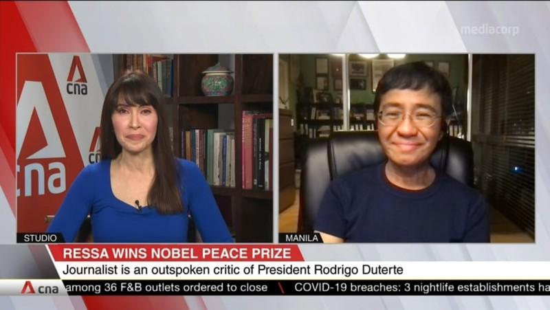 Chủ nhân Nobel Hòa bình 2021 chia sẻ về cuộc 'đấu tranh cho sự thật' của nhà báo - ảnh 1