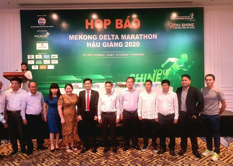 Khởi động giải Mekong Delta Marathon Hậu Giang 2020 lần thứ 2 - ảnh 1