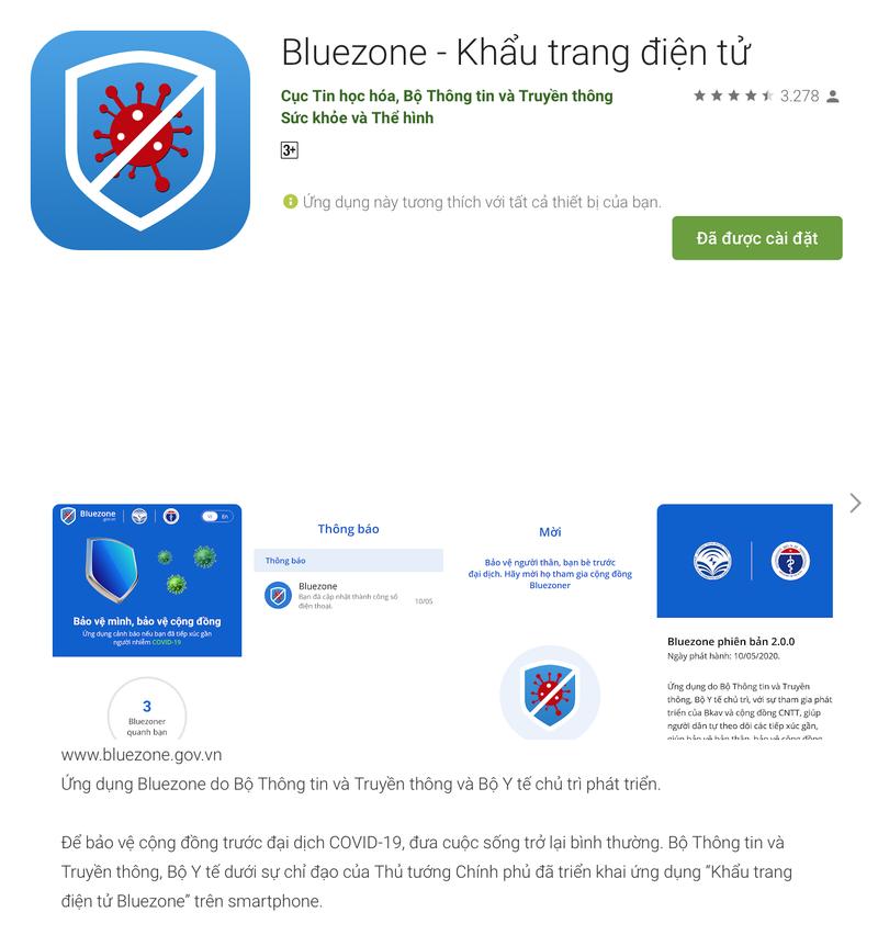 Hướng dẫn cài đặt Bluezone để cảnh báo người nhiễm COVID-19 - ảnh 1