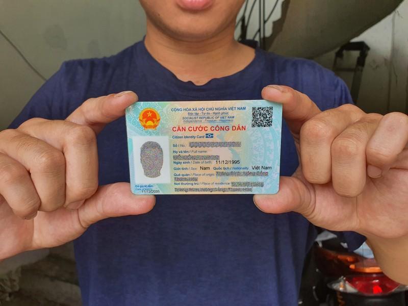 Quét mã QR trên thẻ CCCD, công dân có được những thông tin gì? - ảnh 1