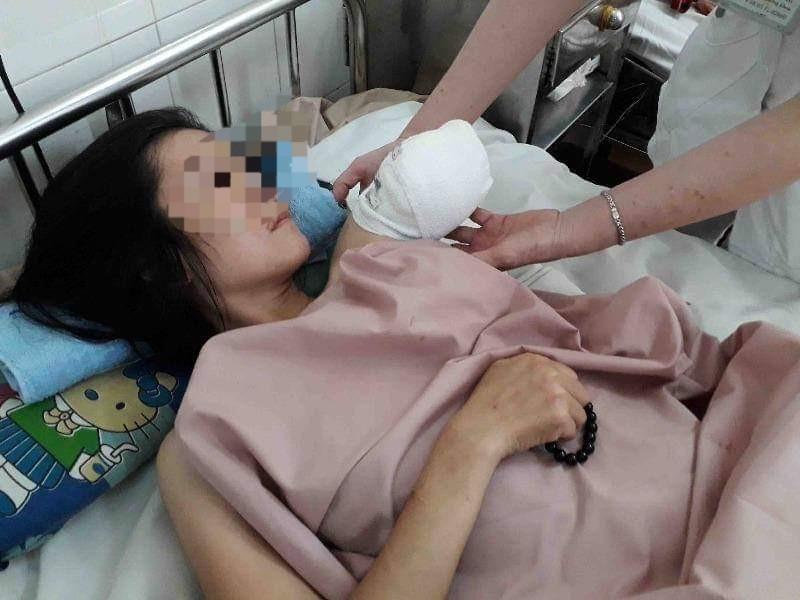 Con chết trong bụng mẹ do tai nạn giao thông - ảnh 1