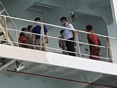 TP.HCM: Sức khỏe 19 thuyền viên trên tàu cách ly COVID-19  - ảnh 1