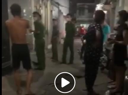 Thực hư 4 người Trung Quốc 'cố thủ' trong nhà - ảnh 1