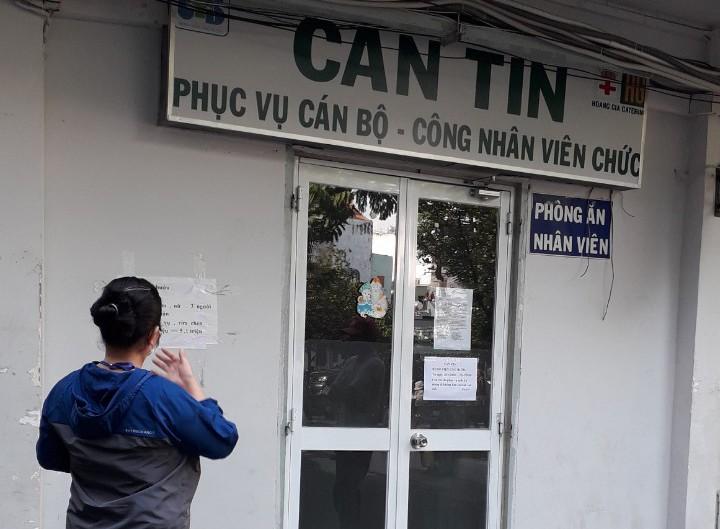 TP.HCM: Căn tin các bệnh viện không phục vụ đồ ăn tại chỗ - ảnh 1