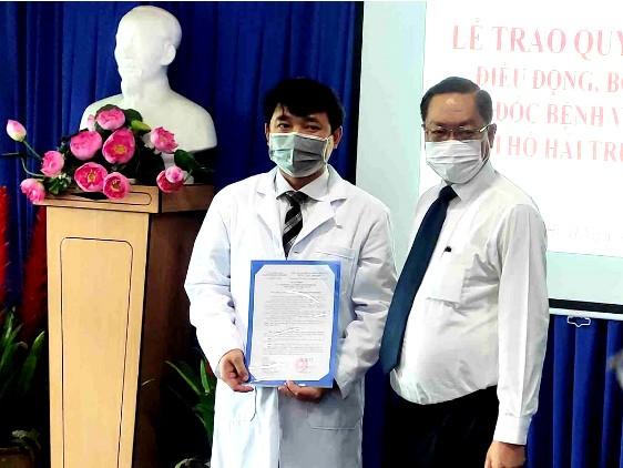 TP.HCM: BS Hồ Hải Trường Giang làm giám đốc BV An Bình - ảnh 1