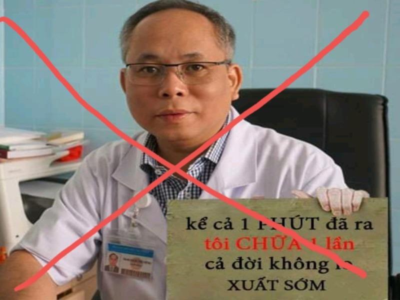 Bác sĩ Mai Bá Tiến Dũng quảng cáo điều trị xuất tinh sớm? - ảnh 1