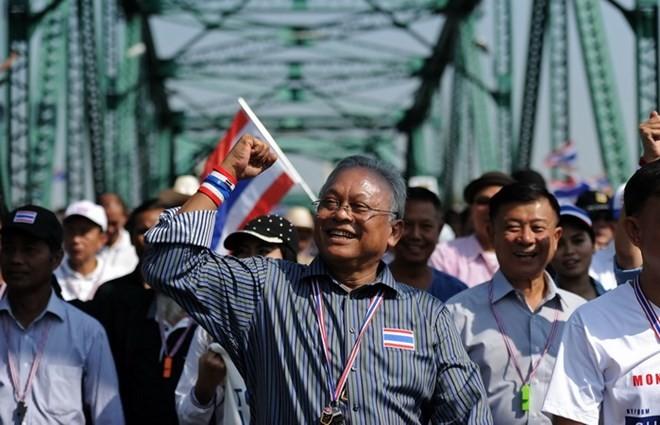Tòa án Thái Lan thông qua lệnh bắt các thủ lĩnh biểu tình - ảnh 1
