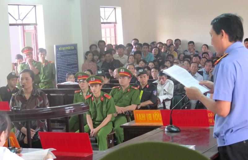 Tòa tuyên án tử hình bị cáo Lê Thị Hường - ảnh 8
