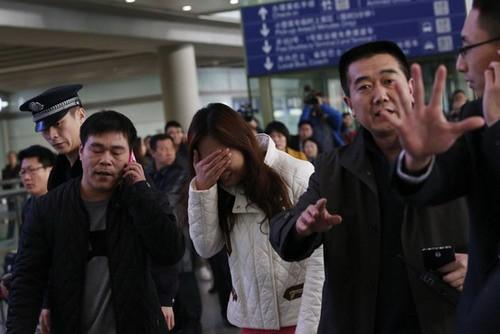 Trung Quốc điều tàu tìm máy bay Malaysia bị rơi - ảnh 1