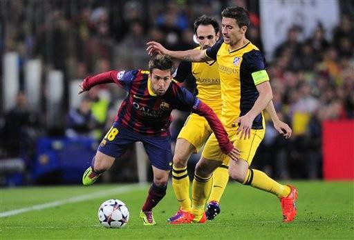 Barcelona bất lực trong việc giành chiến thắng trước Atletico