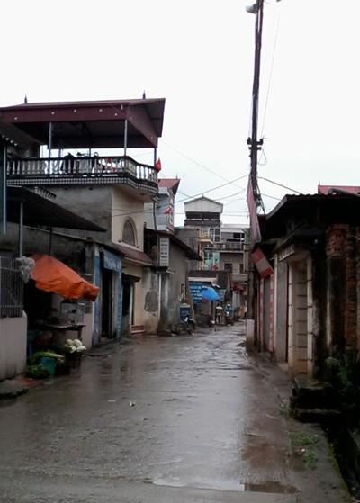 Ngôi nhà Túc ở thôn Ngọc Chi.
