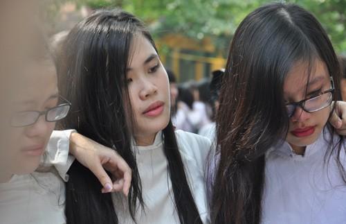 vẻ đẹp, nữ sinh, Chu Văn An, bế giảng, xa trường